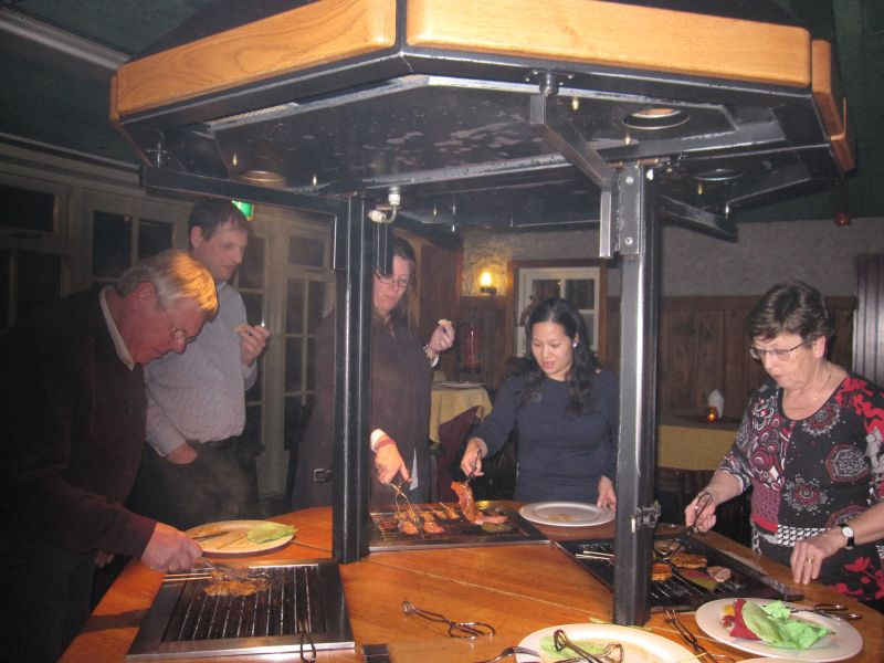 Barbecue in Vresselse Hut
